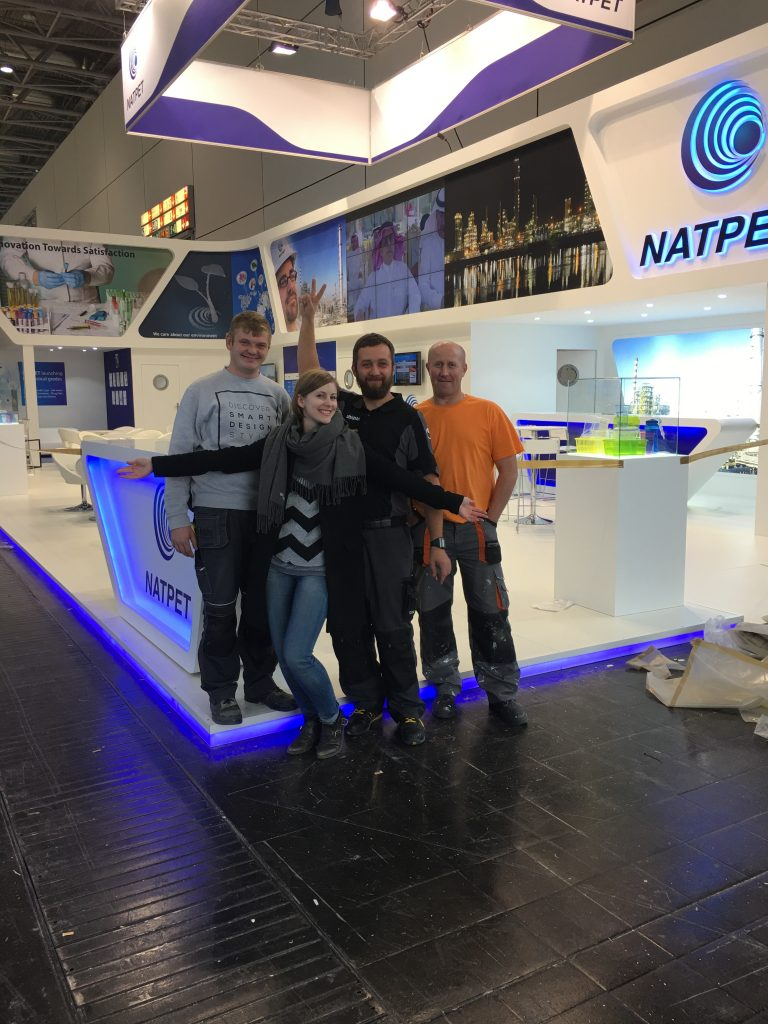 Exhibition stand builders in the UK