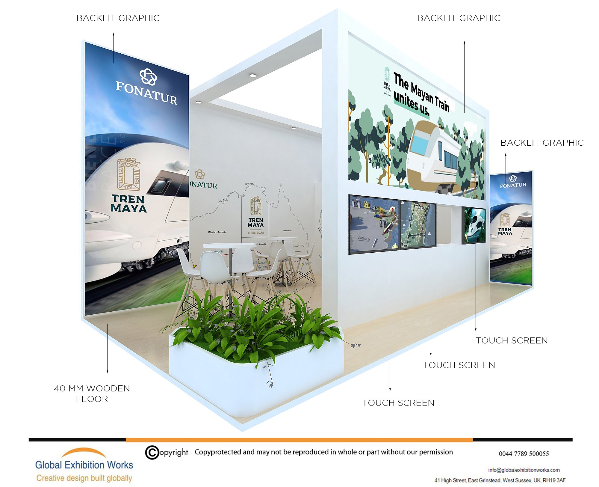 Booth Design for InnoTrans