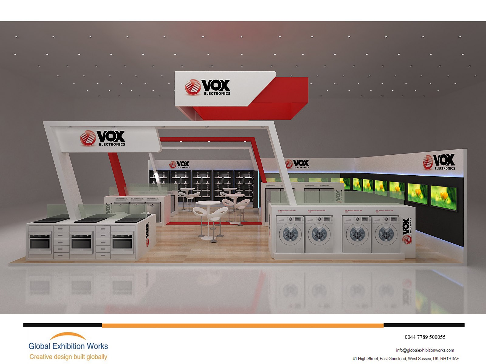 Booth builder for IFA in Berlin