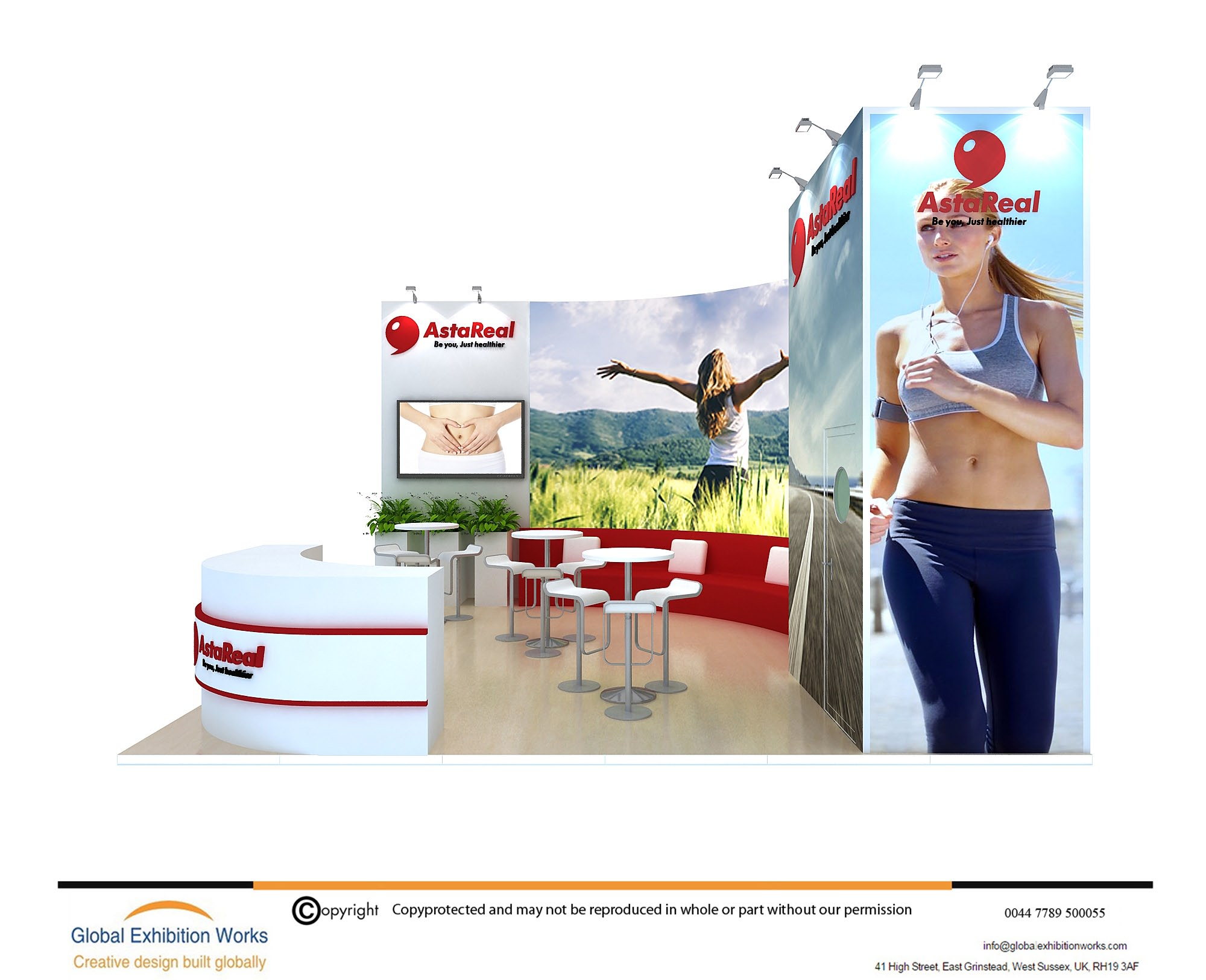 Booth builder for ITB Berlin