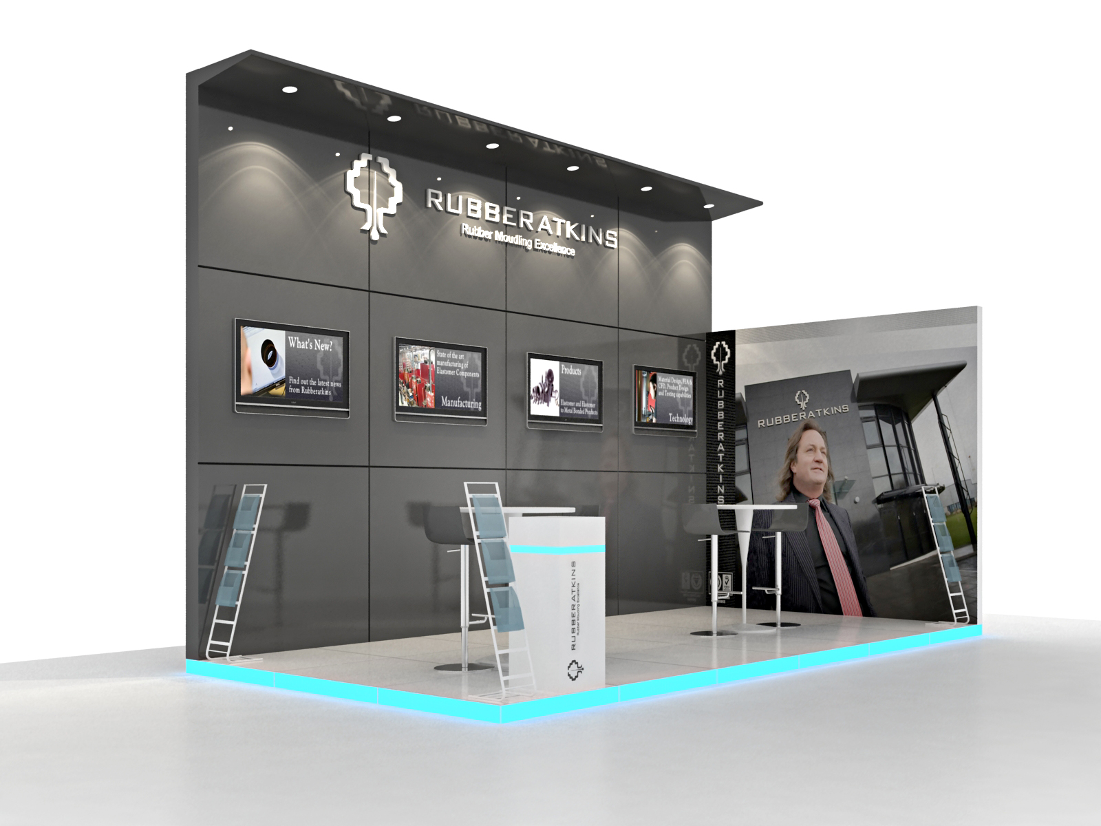 Booths in Drupa Dusseldorf