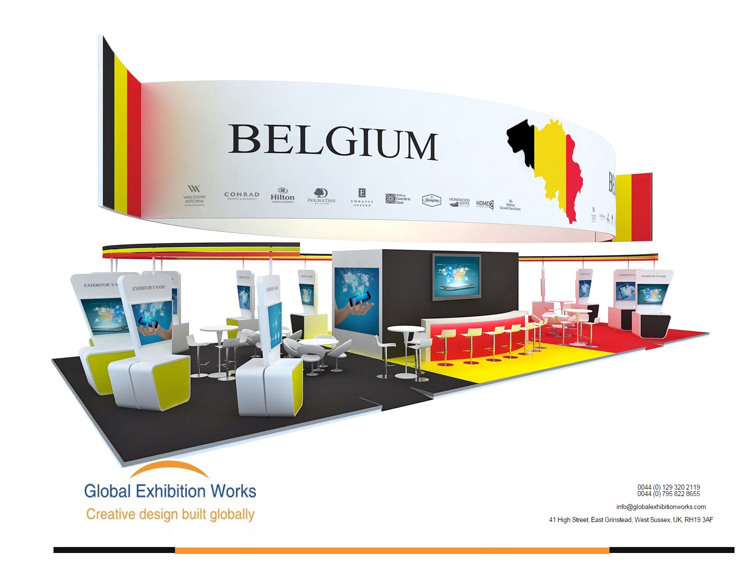 Exhibition Booth Builder in London