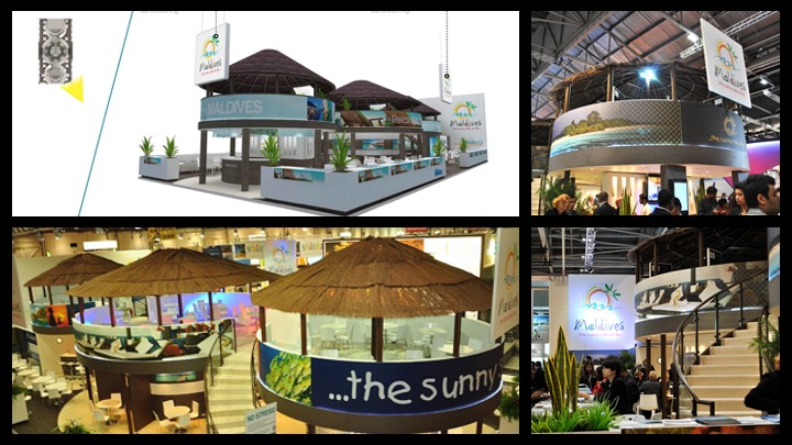 Exhibition Staand Build at WTM in London