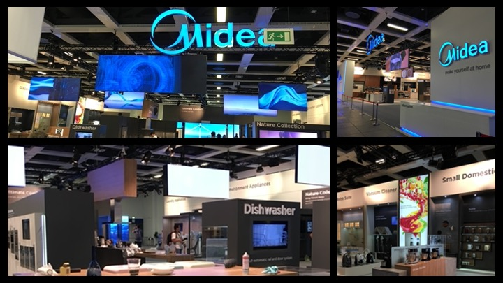 Exhibition Stand Build at IFA in Berlin
