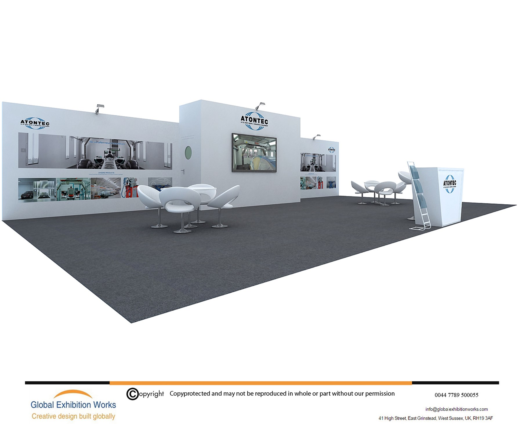 Exhibition builder in Cologne Germany