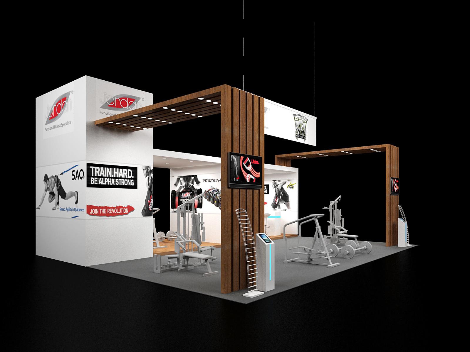 European Booth builders