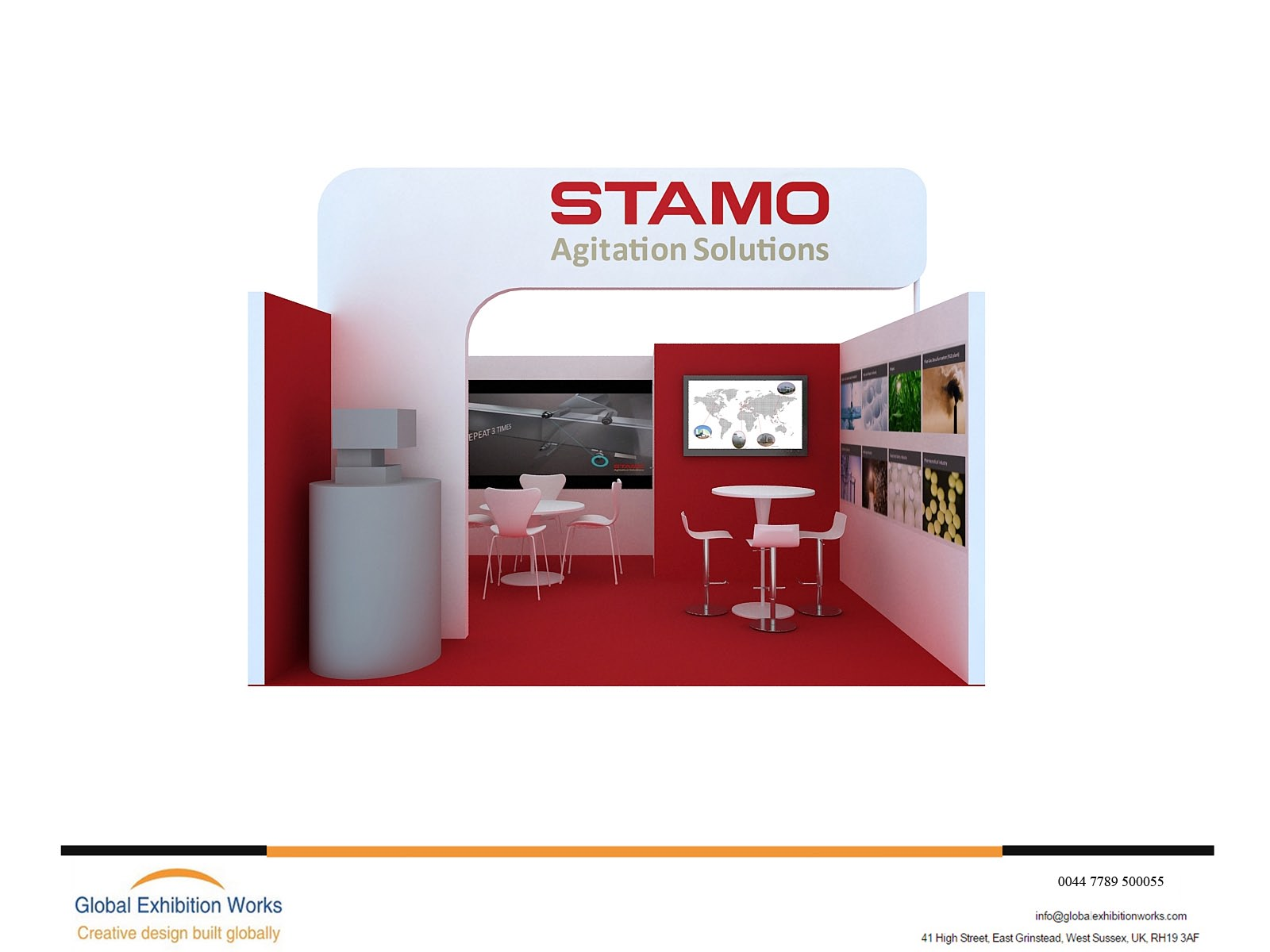 Stand Builder for IFAT
